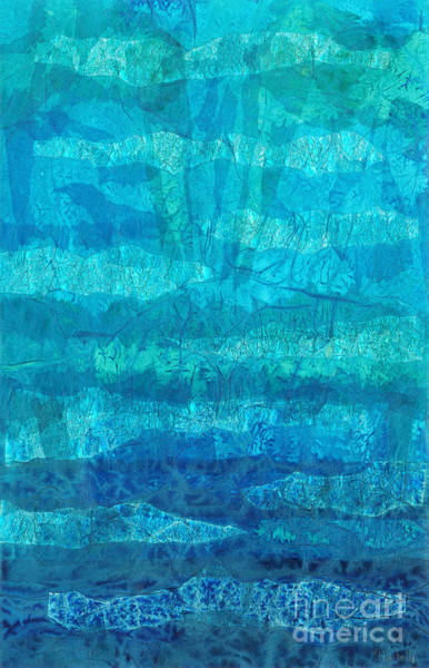 Teal Mixed Media - Rhapsody Of Colors 10 by Elisabeth Witte - Printscapes