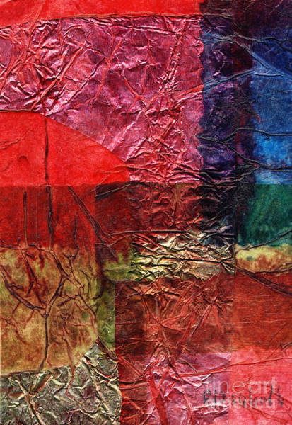 Color Block Mixed Media - Rhapsody Of Colors 18 by Elisabeth Witte - Printscapes