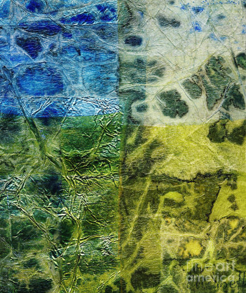 Color Block Mixed Media - Rhapsody Of Colors 4 by Elisabeth Witte - Printscapes