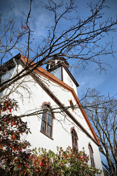 Photograph - Rhinebeck Reformed Church by Cate Franklyn