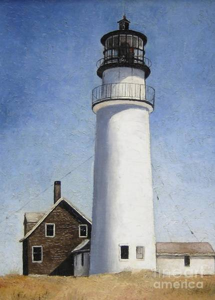 Mary Rogers Painting - Cape Cod Light by Mary Rogers