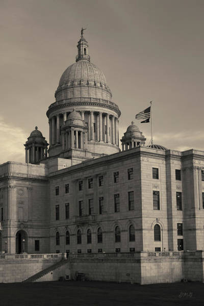 Photograph - Rhode Island State House I Toned by David Gordon