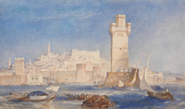 Painting - Rhodes by Joseph Mallord William Turner
