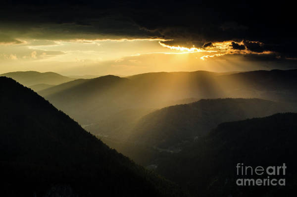 Photograph - Rhodope Mountains Sunset3 by Steve Somerville