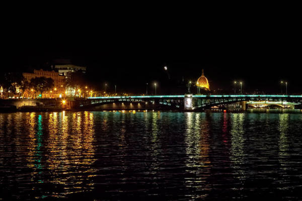 Photograph - Rhone Cruise At Night by Kay Brewer