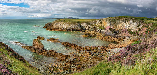 Wall Art - Photograph - Rhoscolyn Bay Anglesey by Adrian Evans