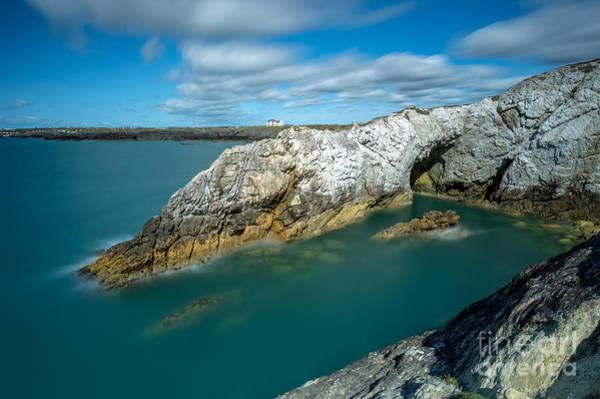 Coastline Digital Art - Rhoscolyn Coastline by Adrian Evans
