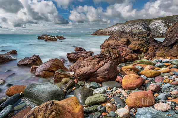 Photograph - Rhoscolyn Coastline Anglesey by Adrian Evans