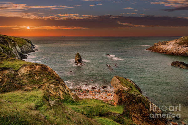 Wall Art - Photograph - Rhoscolyn Sunset Bay by Adrian Evans