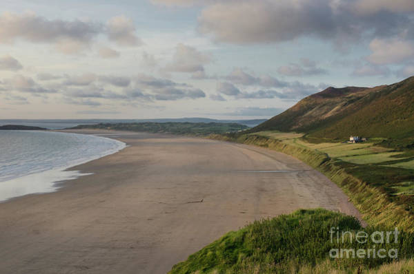 Art Print featuring the photograph Rhossili Bay, South Wales by Perry Rodriguez