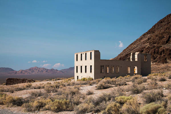 Photograph - Rhylolite School Nevada by Kristia Adams