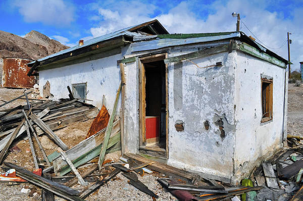 Photograph - Rhyolite Ghost Town Abandoned Home by Kyle Hanson