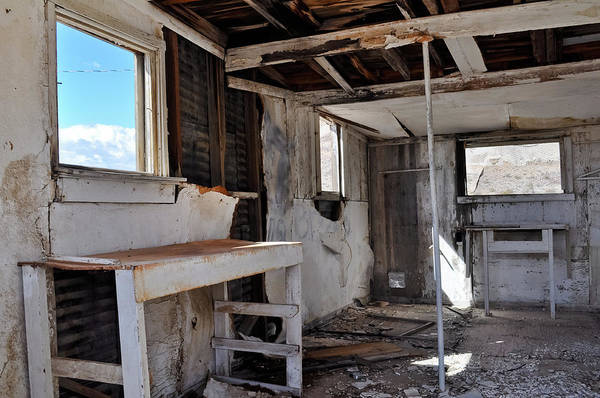 Photograph - Rhyolite Ghost Town Abandoned by Kyle Hanson