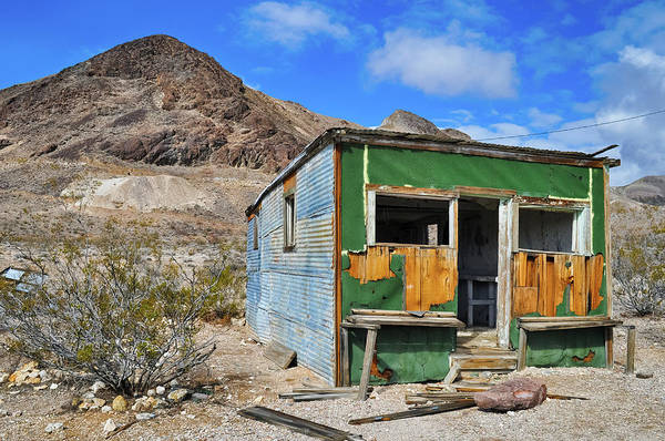 Photograph - Rhyolite Ghost Town Home by Kyle Hanson