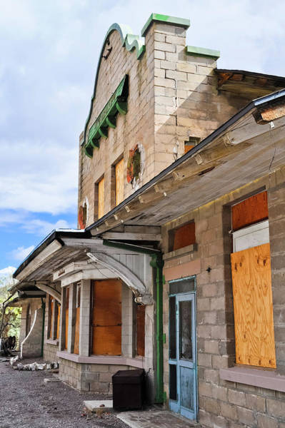 Photograph - Rhyolite Ghost Town Railroad Station by Kyle Hanson