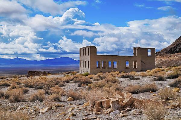 Photograph - Rhyolite Ruins Death Valley by Kyle Hanson