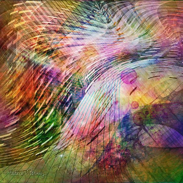 Digital Art - Rhythm And Hues by Barbara Berney