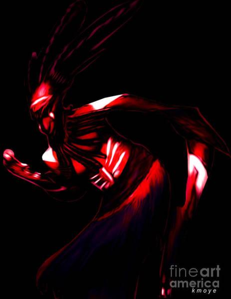 Tribal Dance Digital Art - Rhythm by Kanisha Moye