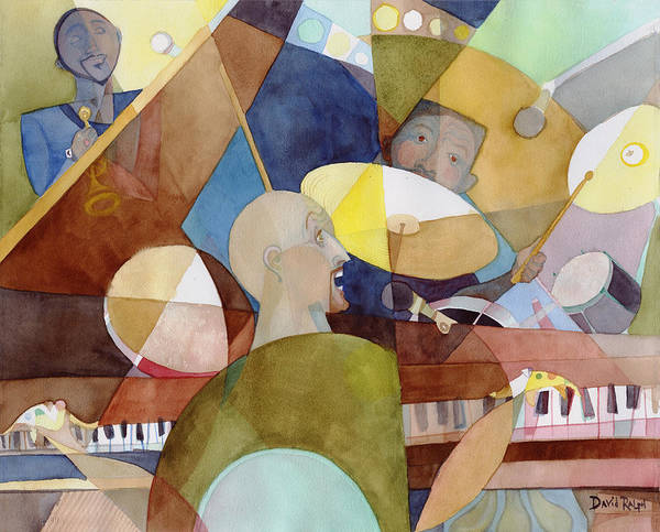 Painting - Rhythm Section by David Ralph