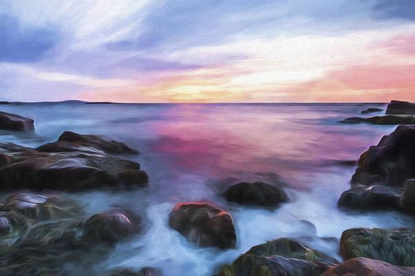 Wall Art - Digital Art - Rhythmic Dawn II by Jon Glaser