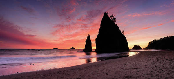 Photograph - Rialto Sunset - Panorama by Michael Blanchette
