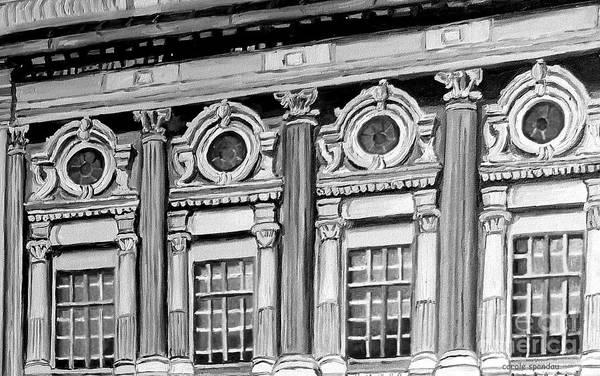 Painting - Rialto Theatre Architecture Montreal Vintage Cinemas Canadian Art Carole Spandau by Carole Spandau