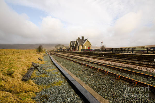 Yorkshire Wall Art - Photograph - Ribblehead Station by Smart Aviation