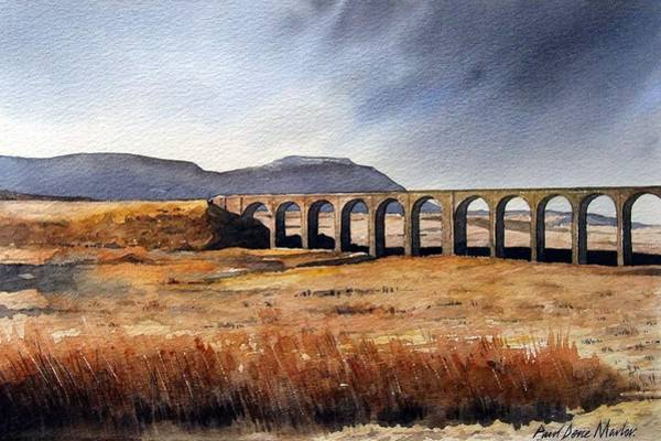Wall Art - Painting - Ribblehead Viaduct by Paul Dene Marlor
