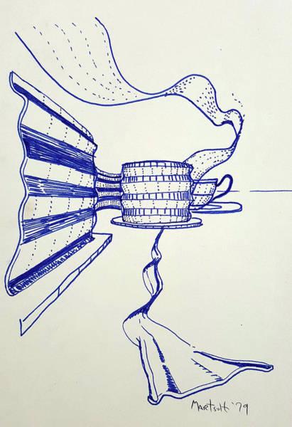 Drawing - Ribbons by Dave Martsolf