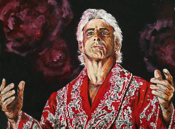 Ric Flair Art Print