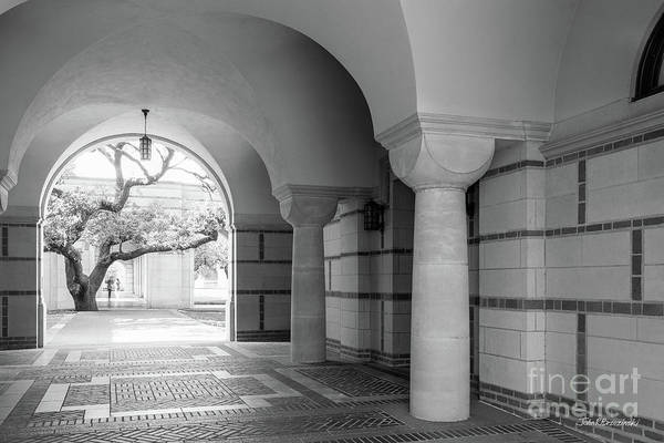 Photograph - Rice University Passageway by University Icons