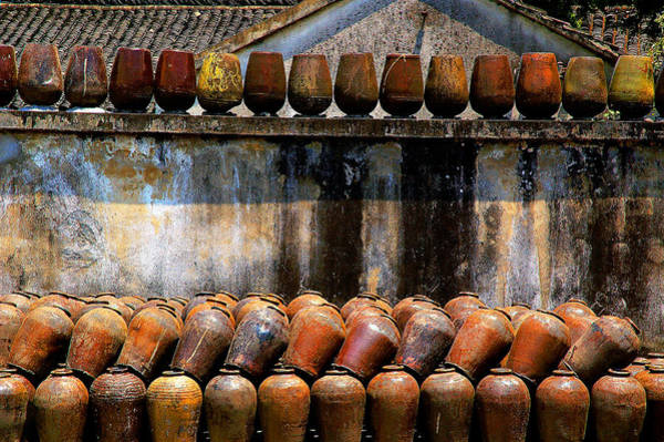 Photograph - Rice Wine Urns by Harry Spitz