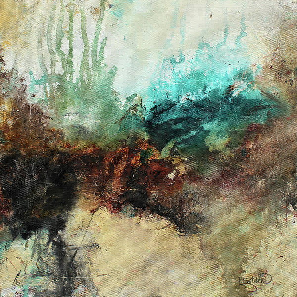 Painting - Rich Earth Tones Abstract Not For The Faint Of Heart by Patricia Lintner