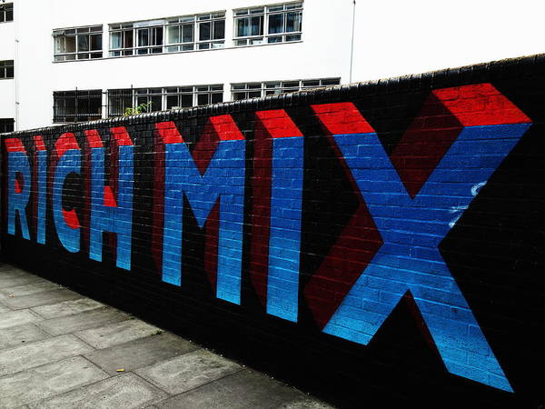 Wall Art - Photograph - Rich Mix In London by Funkpix Photo Hunter