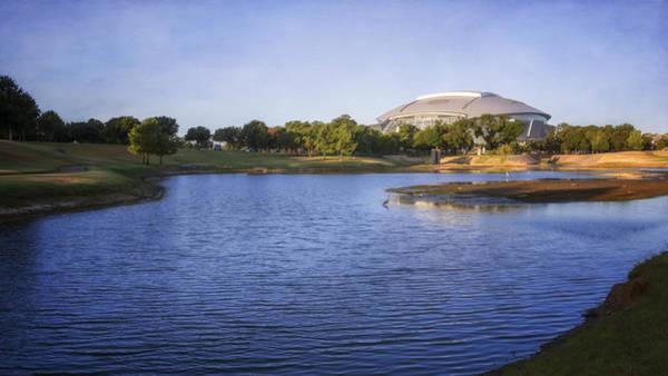 Photograph - Richard Greene Linear Park And Att Stadium by Joan Carroll