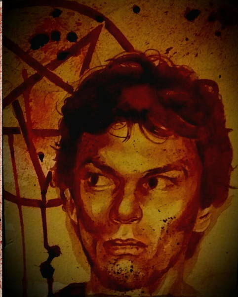 It Professional Painting - Richard Ramirez - The Night Stalker by Ryan Almighty
