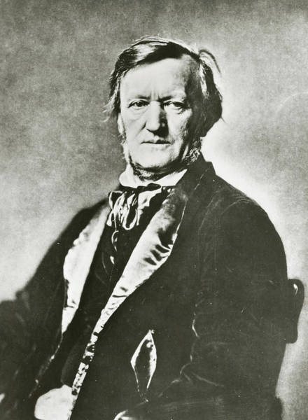Wall Art - Photograph - Richard Wagner by Unknown