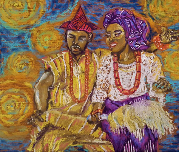 Pastel - Riches In Joy by Adekunle Ogunade