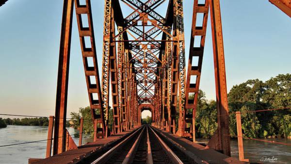 Photograph - Richmond Brazos River Bridge by Nathan Little