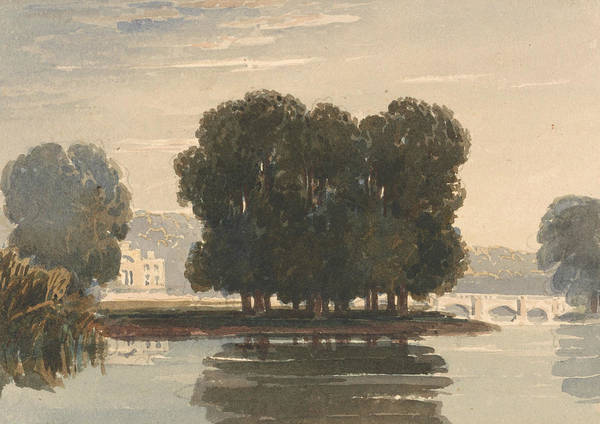 Painting - Richmond Bridge by David Cox