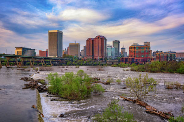 Wall Art - Photograph - Richmond Skyline by Rick Berk
