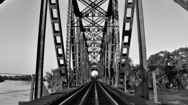 Photograph - Richmond Texas Railroad Bridge by Nathan Little