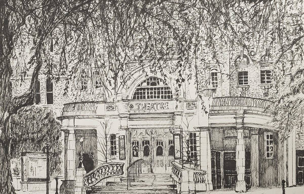 Bare Drawing - Richmond Theatre London by Vincent Alexander Booth