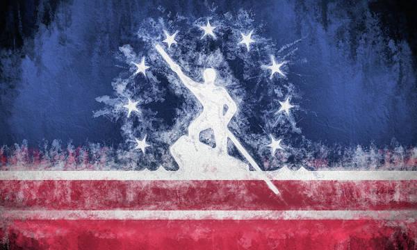 Wall Art - Digital Art - Richmond Virginia City Flag by JC Findley