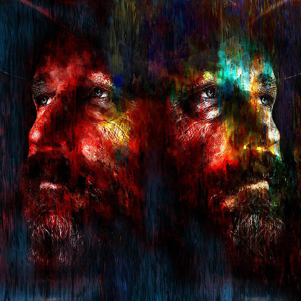 Painting - Rick X2 by Rick Mosher