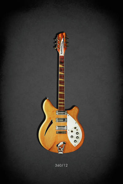 Wall Art - Photograph - Rickenbacker 360 12 1964 by Mark Rogan