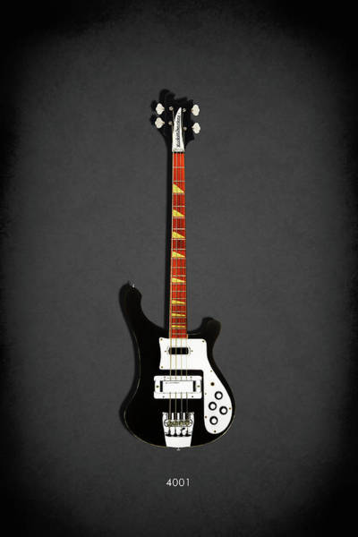 Wall Art - Photograph - Rickenbacker 4001 1979 by Mark Rogan