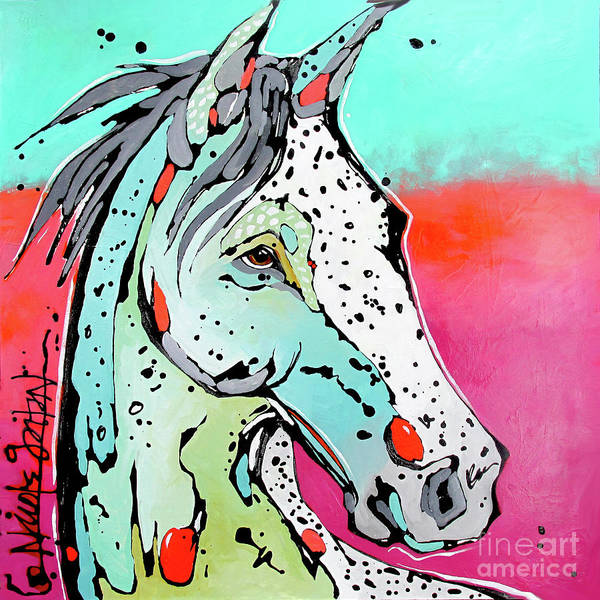 Painting - Ride by Nicole Gaitan
