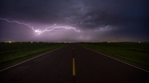 Photograph - Ride The Lightning 3 by Aaron J Groen
