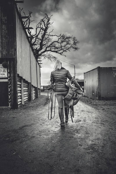 Cowboy Photograph - Ride Time by Samuel Whitton